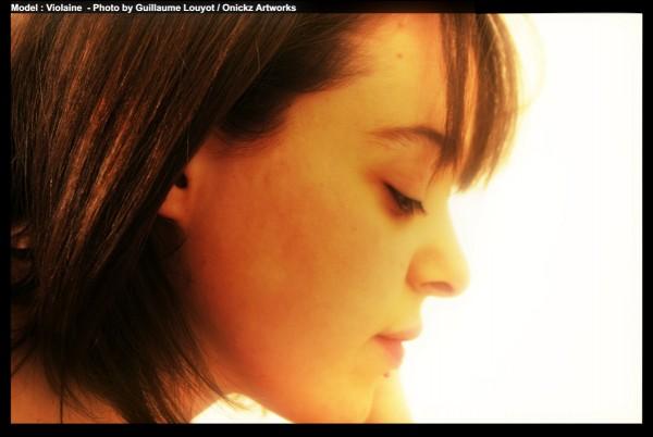 violaine model photo