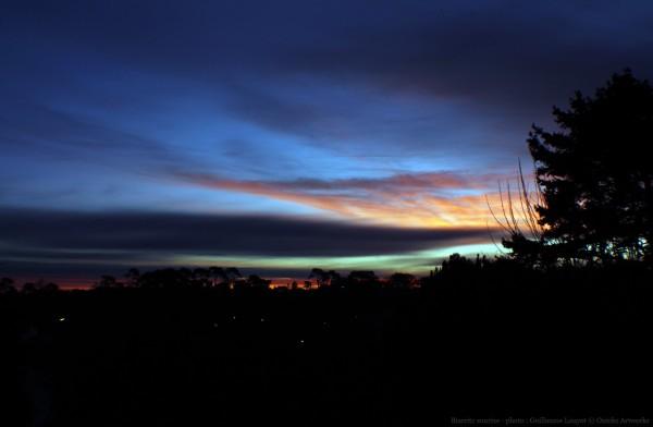 lever du soleil à biarritz photo par guillaume louyot biarritzforever