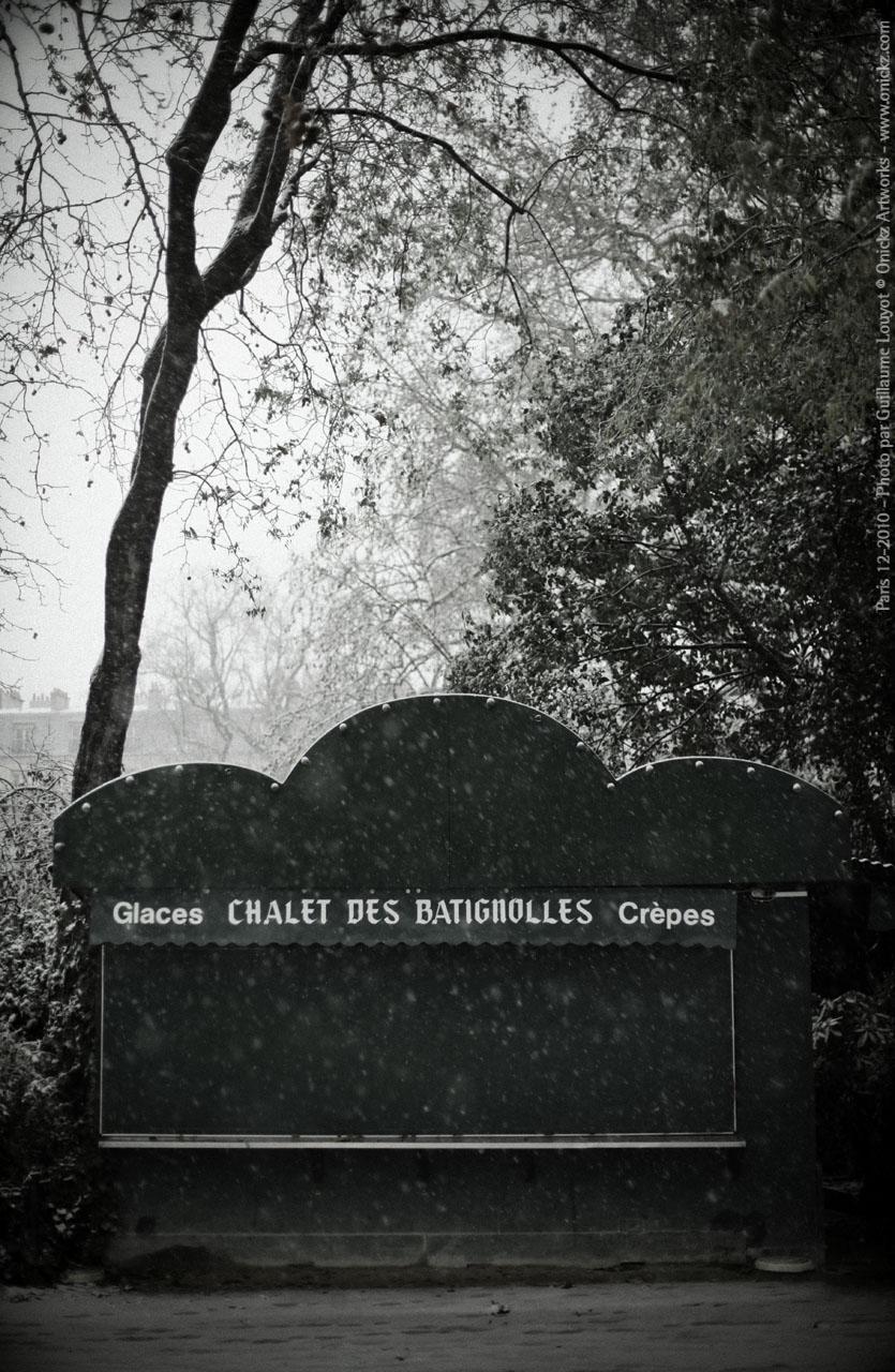 Paris Decembre 2010 - BATIGNOLLES _ photo Guillaume Louyot num_20600 © Onickz Artworks