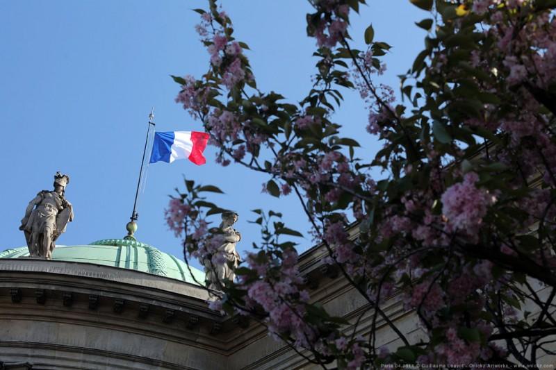 Promenade parisienne d'un jour d'Avril