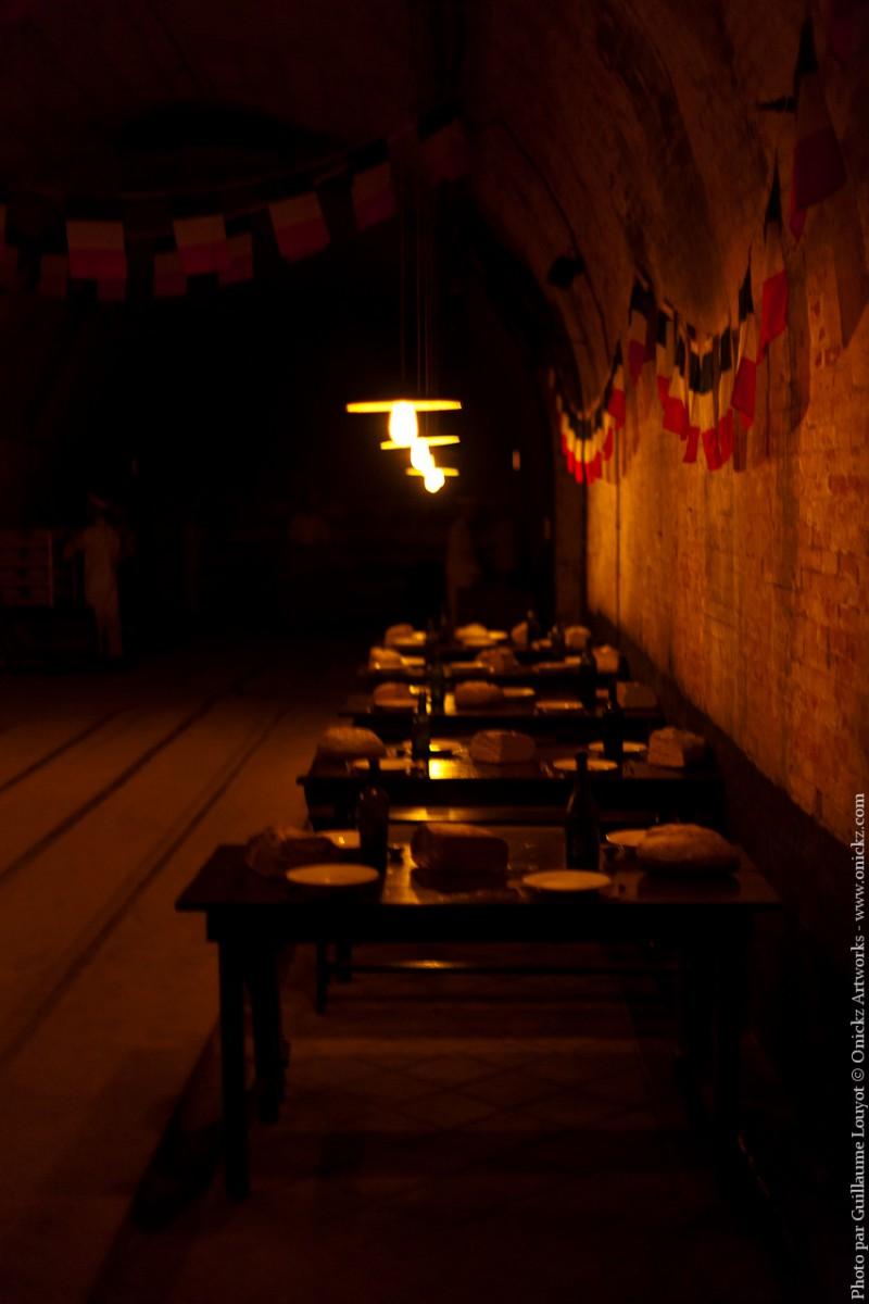 Cantine de la Citadelle souterraine