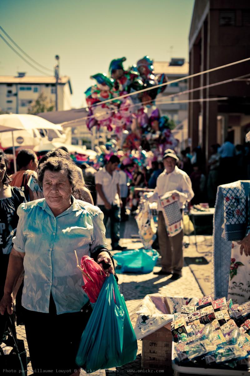 Jour de marché au Portugal