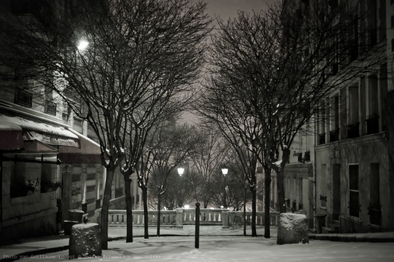 Paris snow 2013 - photo num 31720 par Guillaume Louyot Onickz Artworks