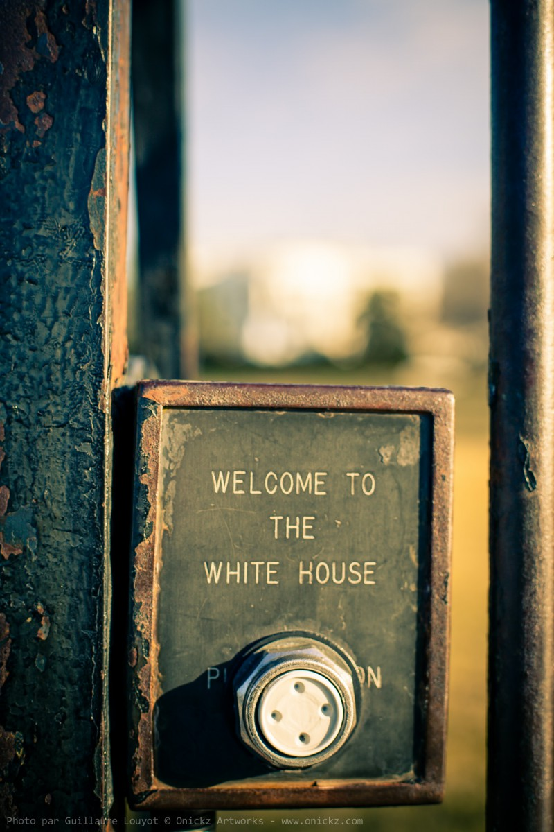 Welcome to the White House hidden entrance