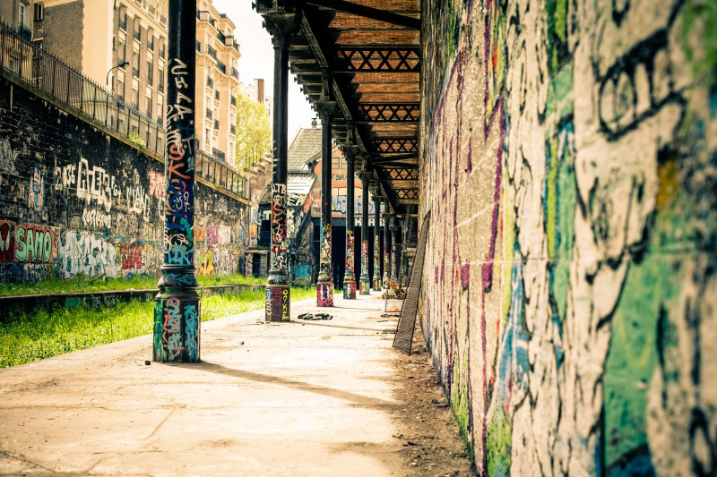 Paris France Urban Exploration