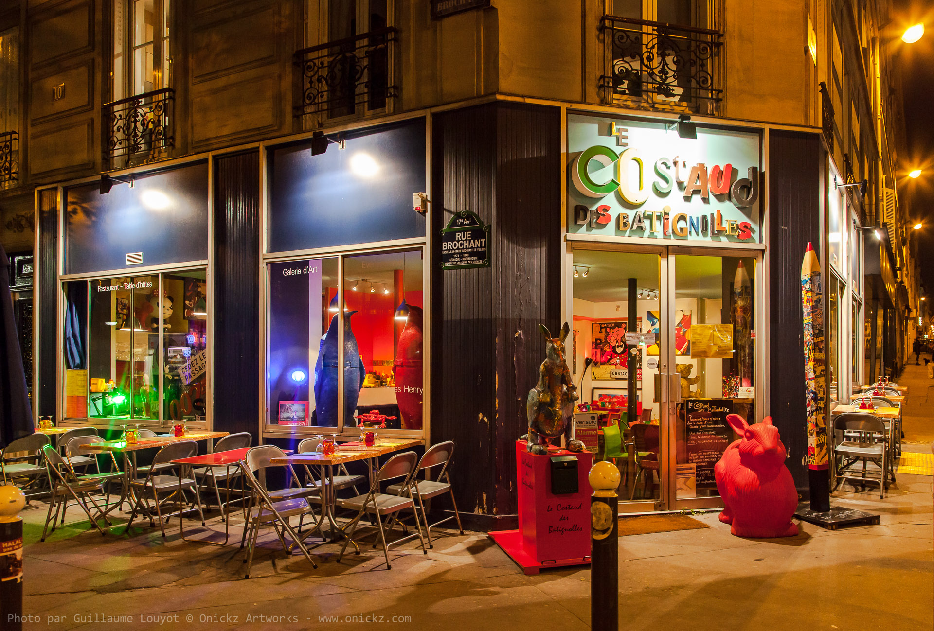 Le Costaud des Batignolles - Photo pour Google par Guillaume Louyot - Onickz Artworks - MonCommerce.Net