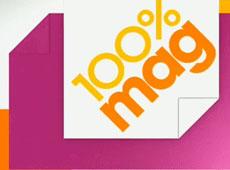 100 % Mag – montage habillage et étalonnage