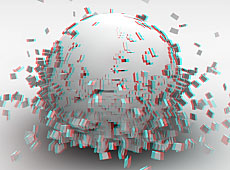 Anaglyph Sphere test