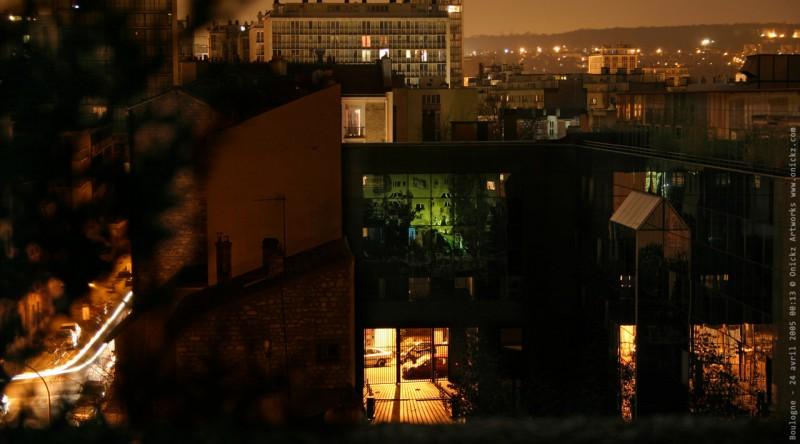 Boulogne de nuit