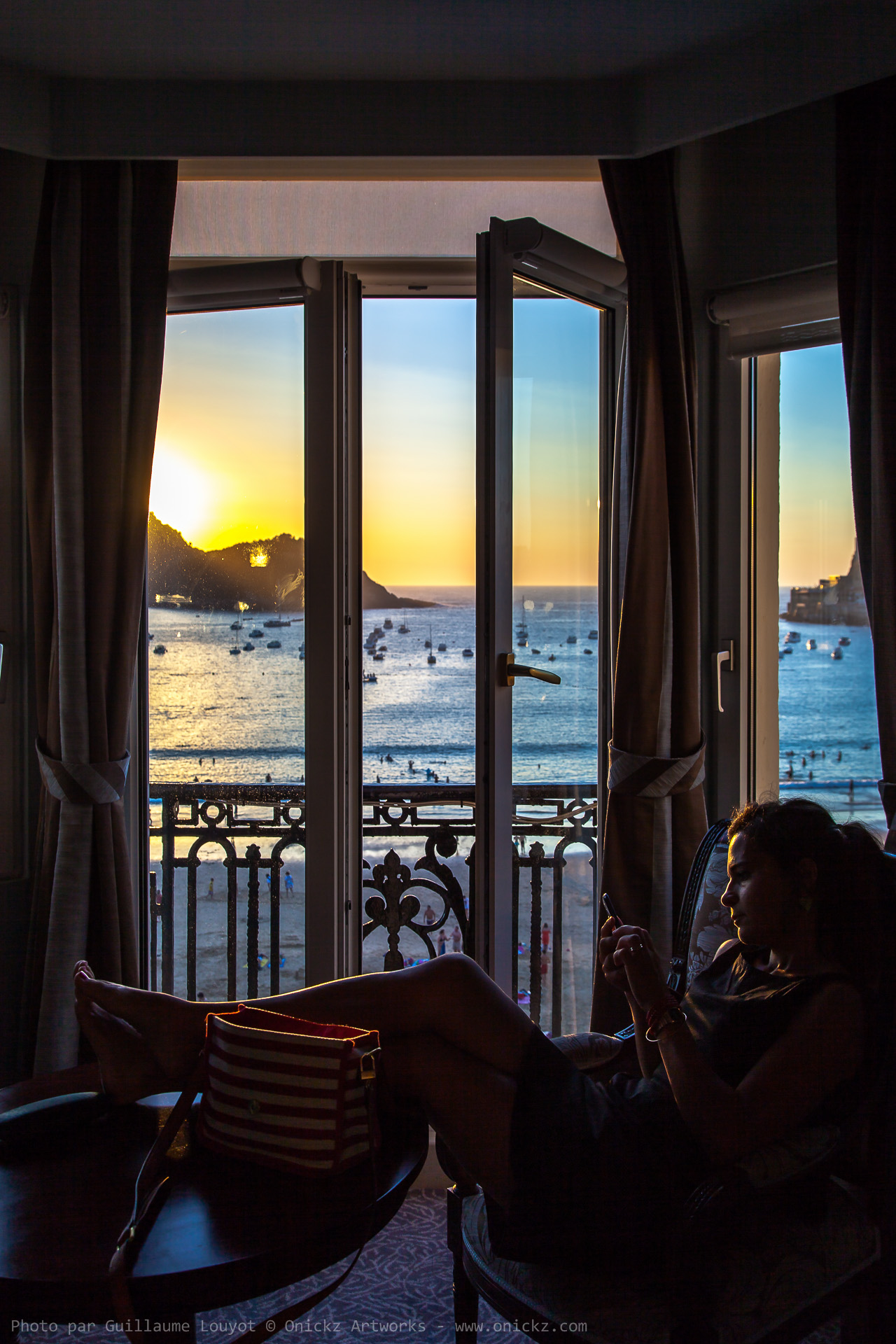 Donostia room with a view