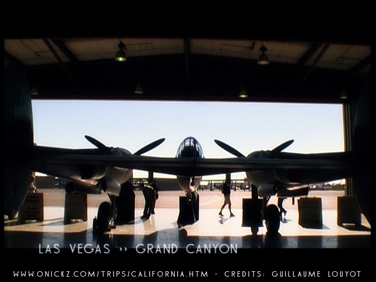 Las Vegas 1942 videgame airplane nevada by Guillaume Louyot
