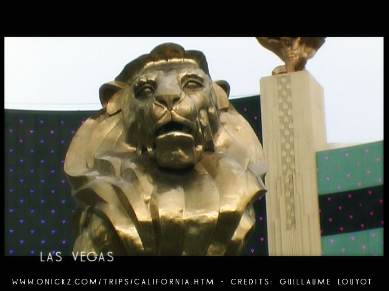 Las Vegas MGM Lion by Guillaume Louyot